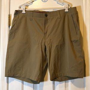 Under Armour Beige Golf Shorts